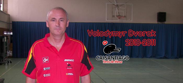 Volodymyr Dvorak jugará con el CAI Santiago
