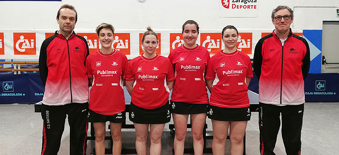 Publimax a la fase de ascenso a Div. de Honor femenina