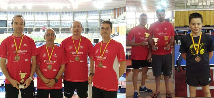 Medallistas del Publimax en el Campeonato de España 2019