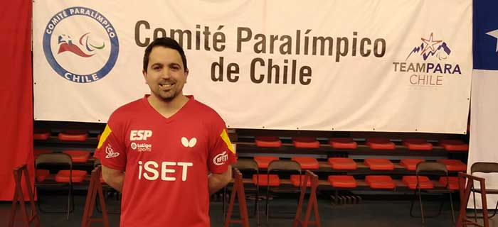 Jorge Cardona disputa el Chile Para Open 2020