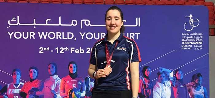 Diana Noha Arangay, bronce en Dubai