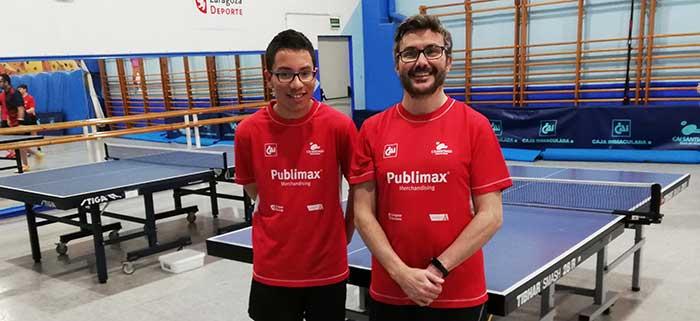 Pablo Ascaso y Luis Rodrigo, al Top Estatal 2020
