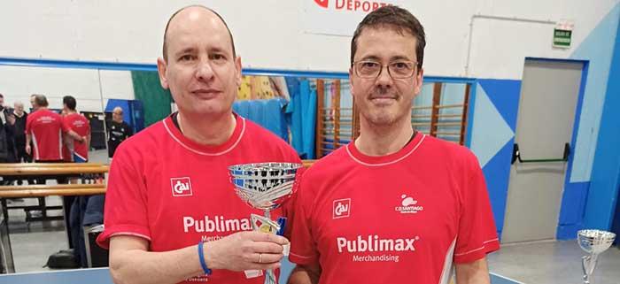 Publimax copa el pódium de Aragón de equipos veteranos