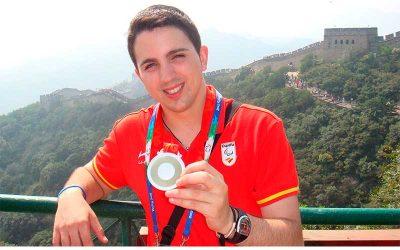 12 años de la medalla de plata de Jorge Cardona en los Juegos de Pekin 2008