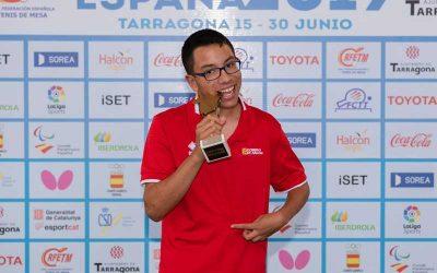 Pablo Ascaso compite en el Para TT Costa Brava Spanish Open
