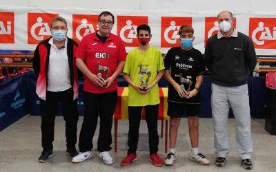 Ferrán Paredes, campeón del I Open Adaptado Publimax CAI Santiago